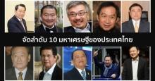 เปิดลิสต์ 10 อันดับ ตระกูลเศรษฐีรวยที่สุดในประเทศไทย