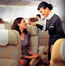 10 อันดับสิ่งที่ขอได้ฟรี เมื่ออยู่บนเครื่องบิน