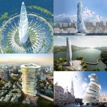10 โครงการตึกระฟ้าที่น่าตื่นตาตื่นใจจากรอบโลก !!