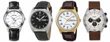 10 นาฬิกาข้อมือผู้ชายสายหนังเน้นดีไซน์สวยราคาน่าโดน