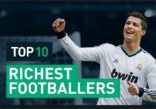 10 นักเตะที่รวยที่สุดในโลก มีใครบ้าง?